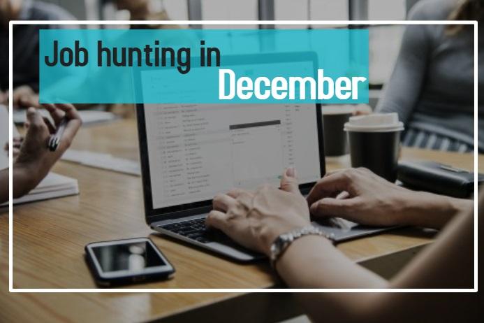 Job hunting in December in Wiltshire